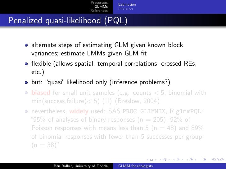 Harvard Forest GLMM talk