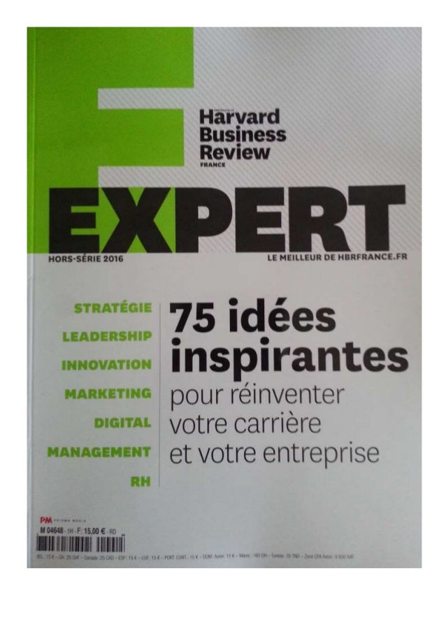 Harvard business review hbr   influence pourquoi certains en ont