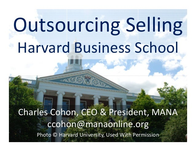 Harvard Business School Presentation