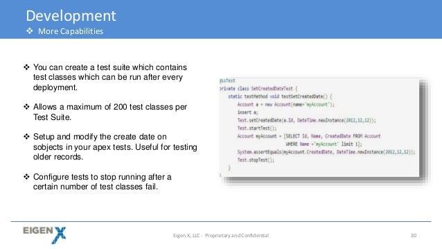 Salesforce apex best practices pdf
