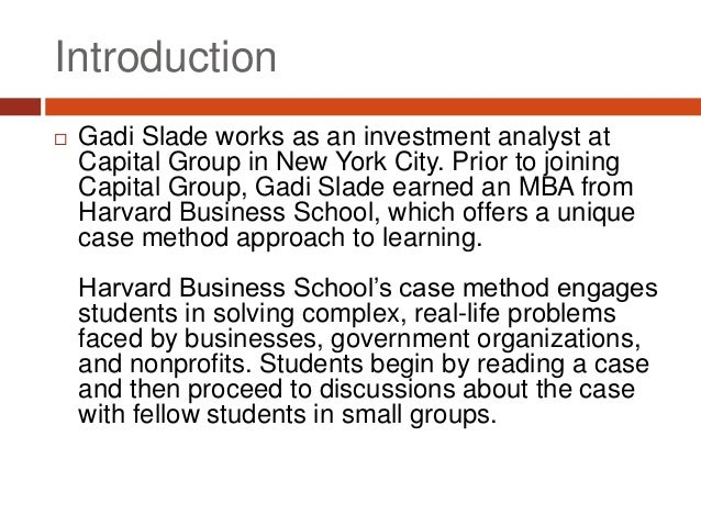 cialis harvard business school case Harvard business school's case studies, ubiquitous for business students, tend to be about white entrepreneurs one professor is trying to change that tendency.