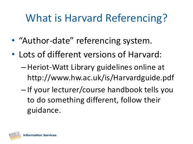 (PDF) (Harvard) Referencing Guide | Sarah McC - Academia.edu