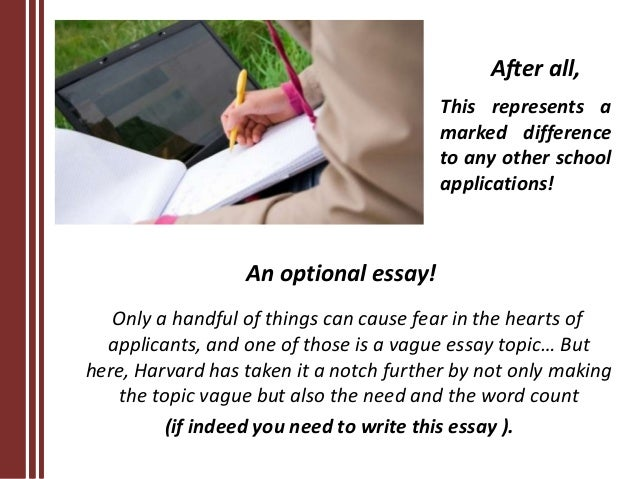harvard application essays 2013