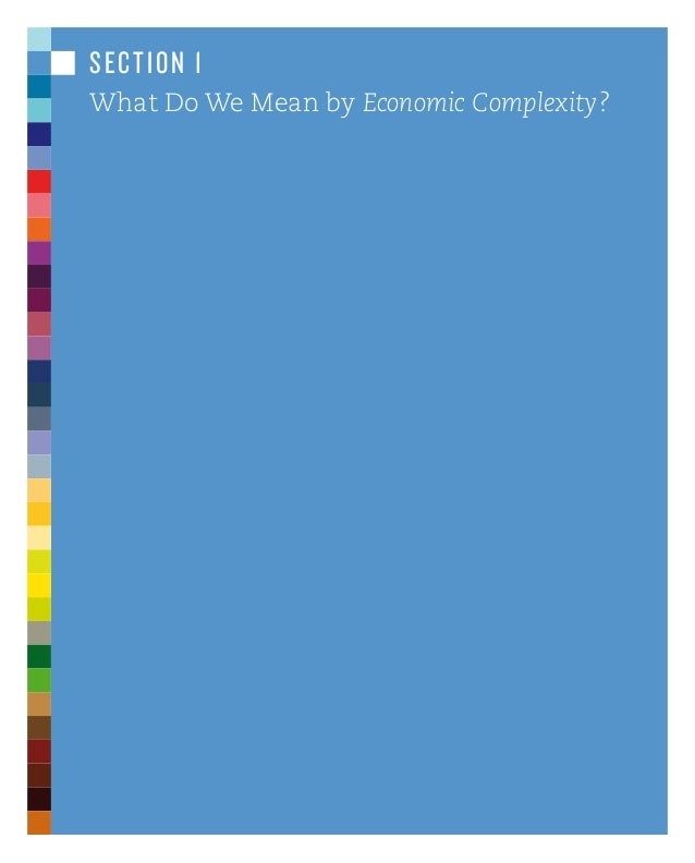 atlas of economic complexity essay The paperback of the the atlas of economic complexity: the maps and visualizations included in the atlas can it contains a collection of twelve papers which.