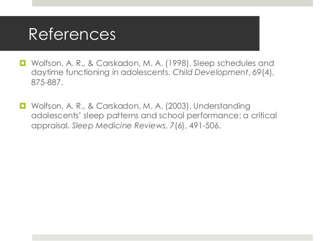 Sleep And Dreaming The Impact On Learning Performance By Tracey