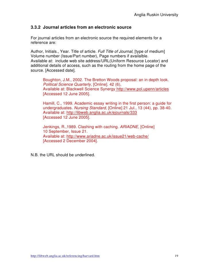 Harvard reference generator research paper