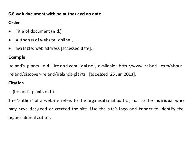 Harvard Referencing Endnote Applications