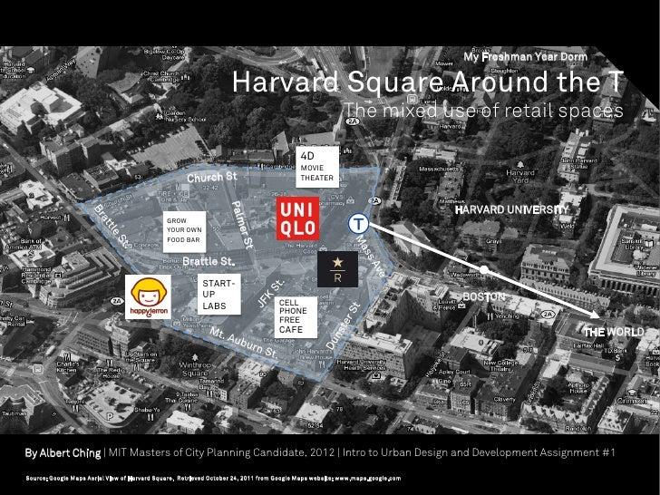 My Freshman Year Dorm                                                                   Harvard Square Around the T       ...