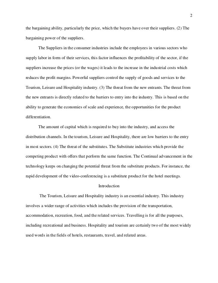 harvard style essay tourism leisure and hospitality revised 2