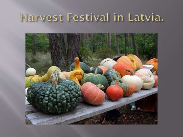 Miķeļi (Michael's Day), or the ancient Latvian harvesting of crops and vegetables is a celebration that corresponds to the...