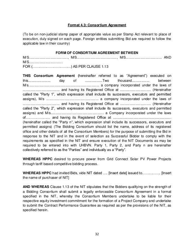 Haryana Solar Bid Document Rfs