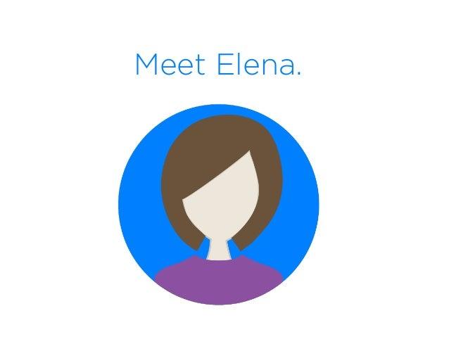 Meet Elena.