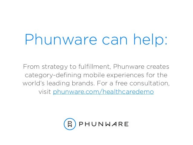 Phunware can help: From strategy to fulfillment, Phunware creates  category-defining mobile experiences for the  world'...