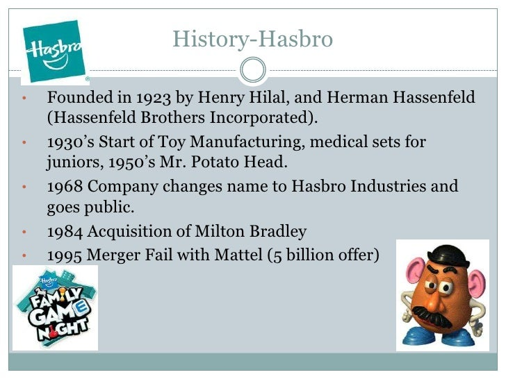 hasbro swot Hasbro, inc (has)-financial and strategic swot analysis review provides you an in-depth strategic swot analysis of the company's businesses and operations the.
