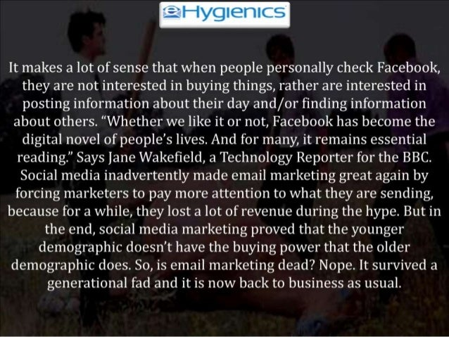 Has Email Marketing Died?