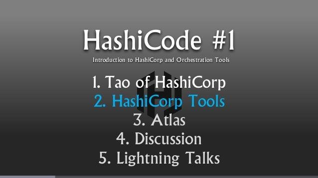 Hashicode 01 hashicorp for Atlas hashicorp