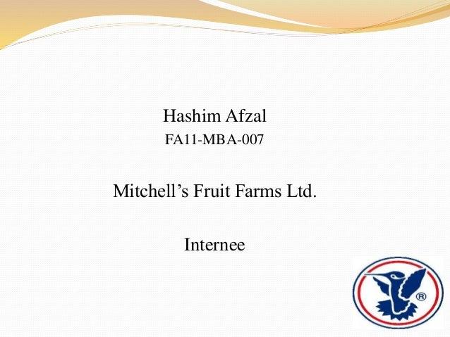 Mitchells Fruit Farms Ltd.
