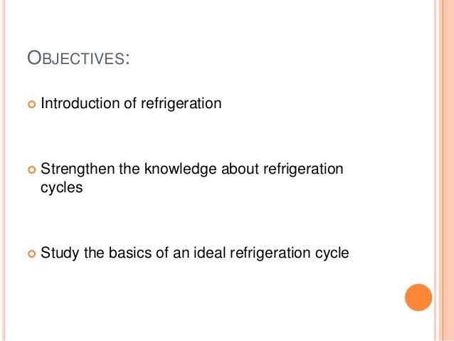 vapor compression refrigeration cycle engineering essay Refrigeration systems (process engineering equipment design guideline) figure 13: p-h diagram for vapor compression cycle (actual) 36 figure 14.