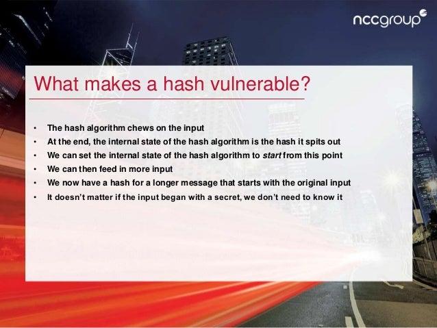 Hash length extension attacks Slide 3
