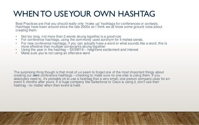 Create your own hashtag for Instagram - Sombrero