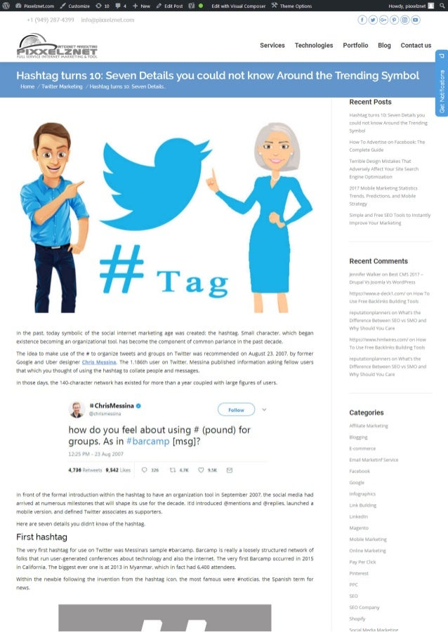 Hashtag turns 10: Seven Details you could not know Around the Trending Symbol