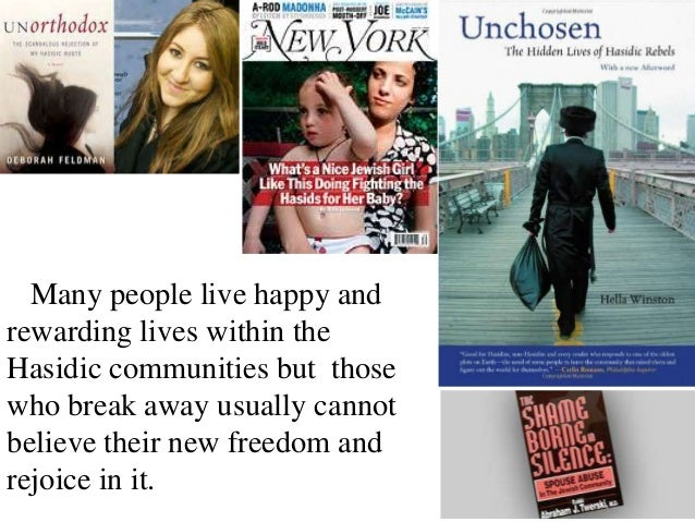 unchosen the hidden lives of hasidic rebels