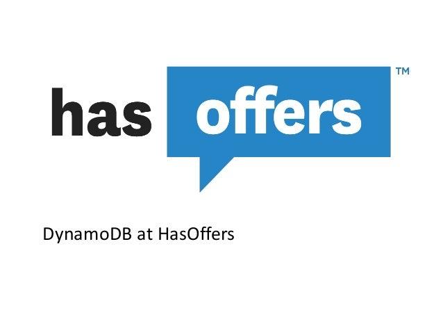 DynamoDB at HasOffers