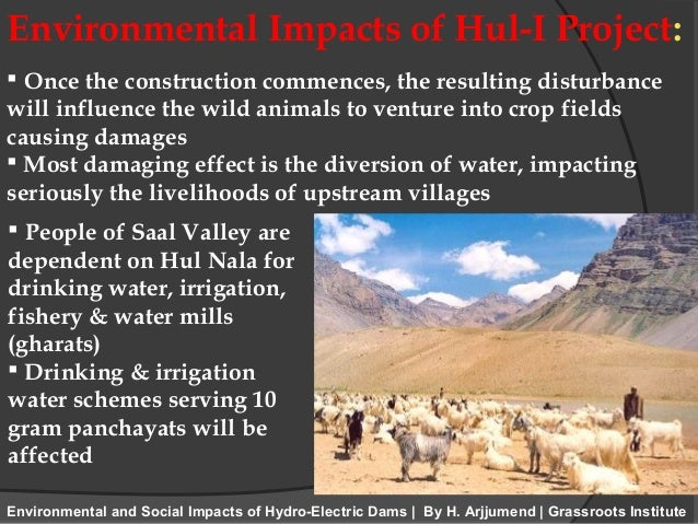 environmental impacts of hydropower on economic 2015-9-28 a comparison of the environmental impacts of hydropower with those of other generation technologies  242 emerging conflicts between economic and.