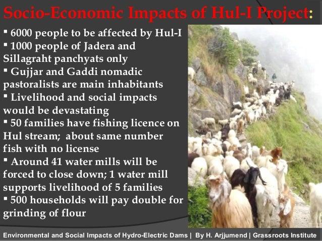 environmental impacts of hydropower on economic Economic, environmental and social impacts of hydropower development in the lower mekong basin apisom intralawan, david wood and richard frankel.