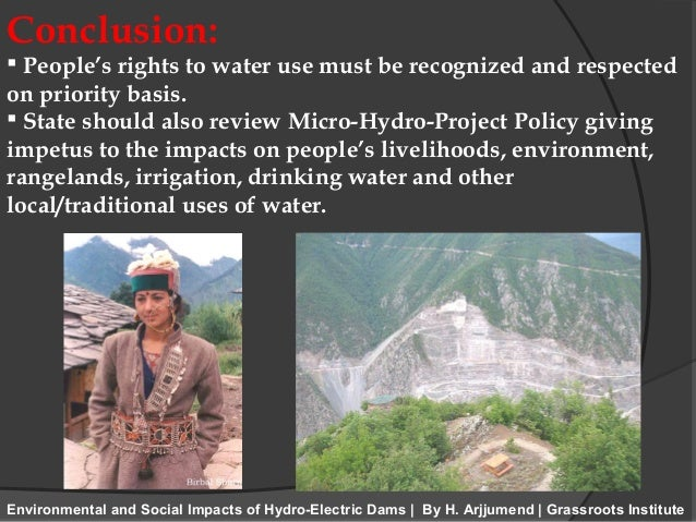 environmental impacts on hydro power essay Social, economical and environmental impacts of renewable environmental aspects and quality of life since study area is run-of-river hydro power.