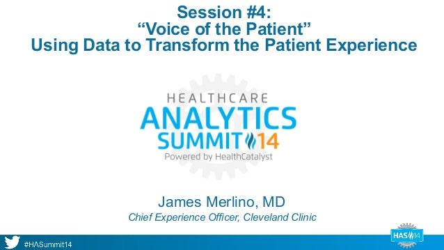 How Cleveland Clinic Uses Data To Transform The Patient Experience