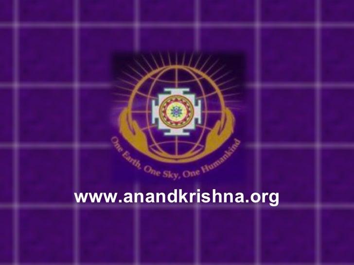 www.anandkrishna.org