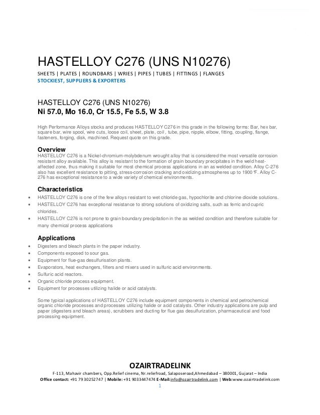 ASTM B575 Hastelloy UNS N10276 Shim Sheets, C276 Hastelloy Hot Rolled…