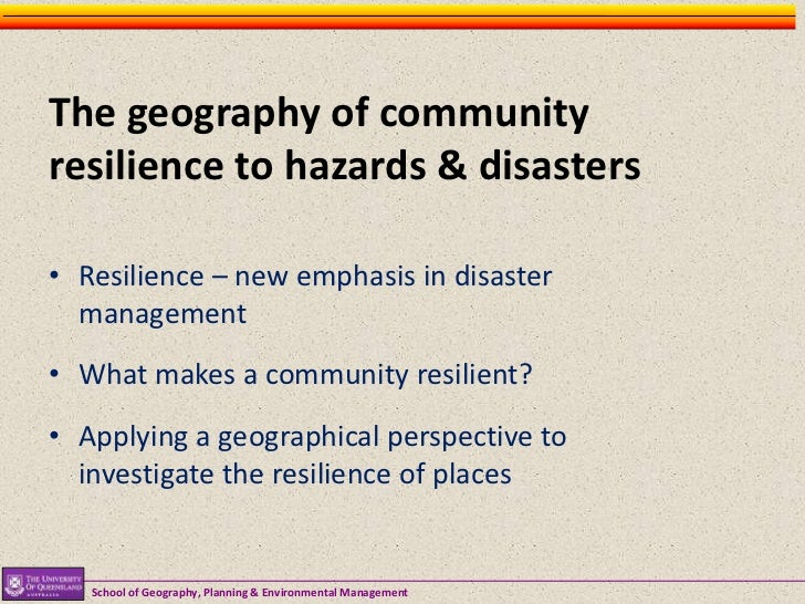 Types Natural Resilience Of Resources