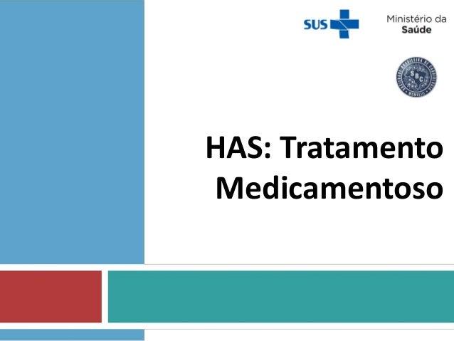 HAS: Tratamento Medicamentoso