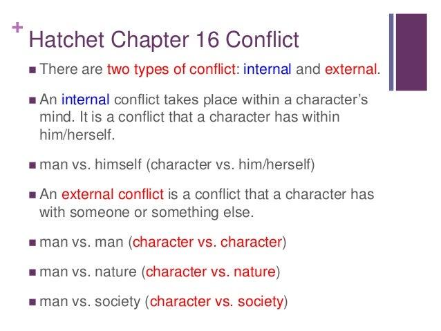 Hatchet Power Point Mr Fernandez – Internal and External Conflict Worksheets