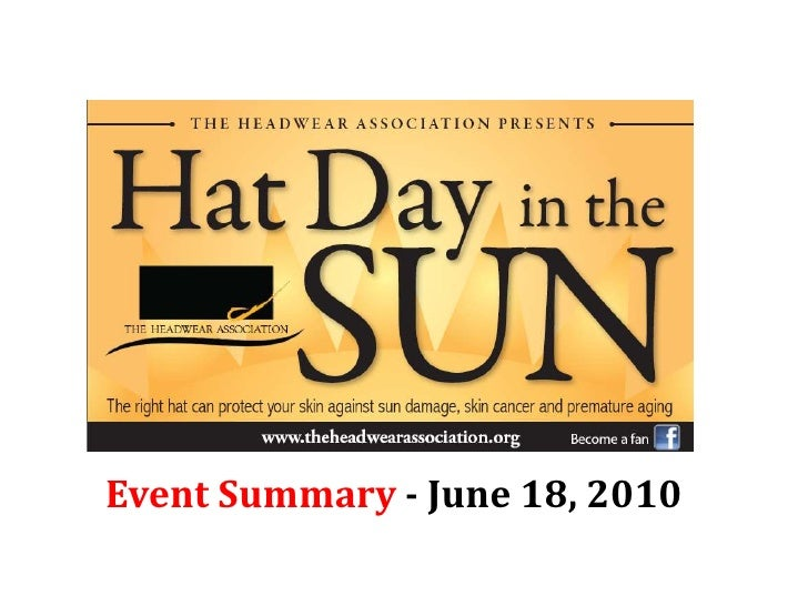 Event Summary - June 18, 2010<br />