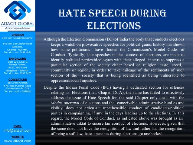 hate speech policy The dangers of 'hate speech' rules we're playing with fire by labeling speech  we must imagine all the ways in which a policy or an idea may do either good or.
