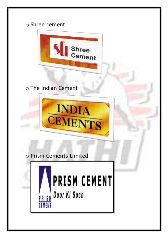 Shree Cement Limited : Hathi cement final