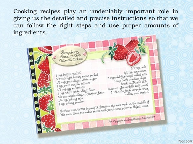 How to Write a Cookbook Introduction | Pen and the Pad