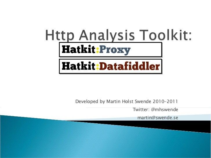 Developed by Martin Holst Swende 2010-2011 Twitter: @mhswende [email_address]