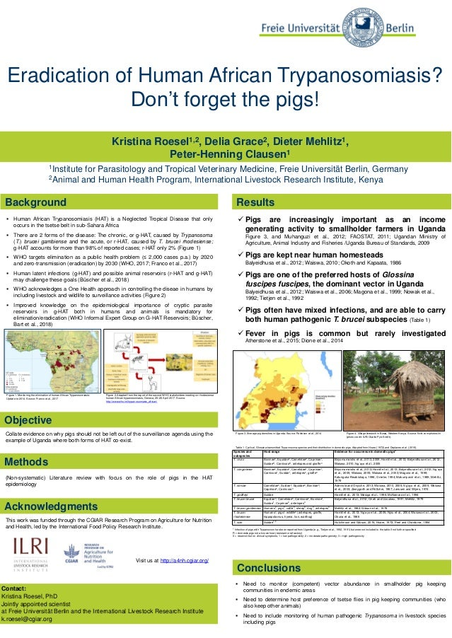 Kristina Roesel1,2, Delia Grace2, Dieter Mehlitz1, Peter-Henning Clausen1 1Institute for Parasitology and Tropical Veterin...
