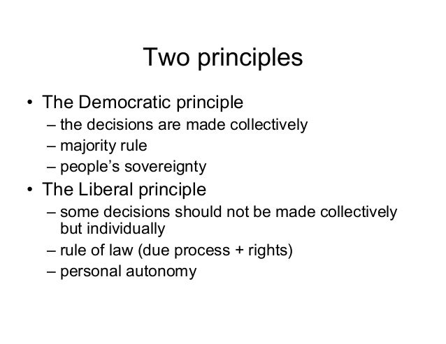 Democracy without Liberalism ...