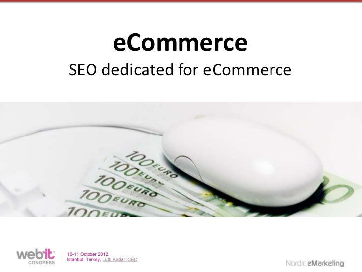 eCommerceSEO dedicated for eCommerce