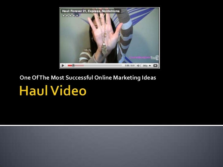 One Of The Most Successful Online Marketing Ideas