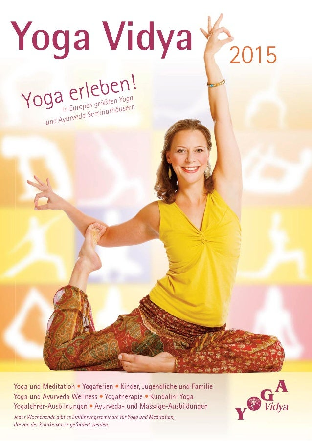 3 Seminarkalender 2014 Seminarleiter Bad Meinberg 19 Westerwald 97 Nordsee 119 Allgäu 143 Deine Yoga Vidya Seminarleiter 1...