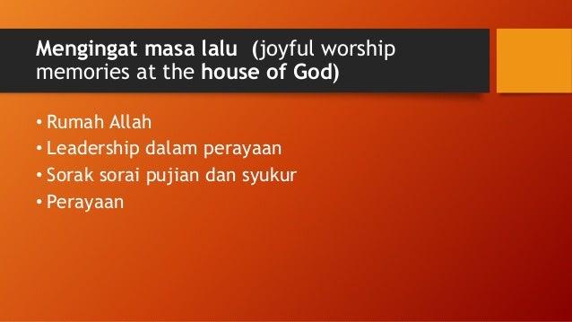 Hope (6) Mengapa engkau tertekan, hai jiwaku, dan gelisah di dalam diriku? Berharaplah kepada Allah! Sebab aku akan bersyu...