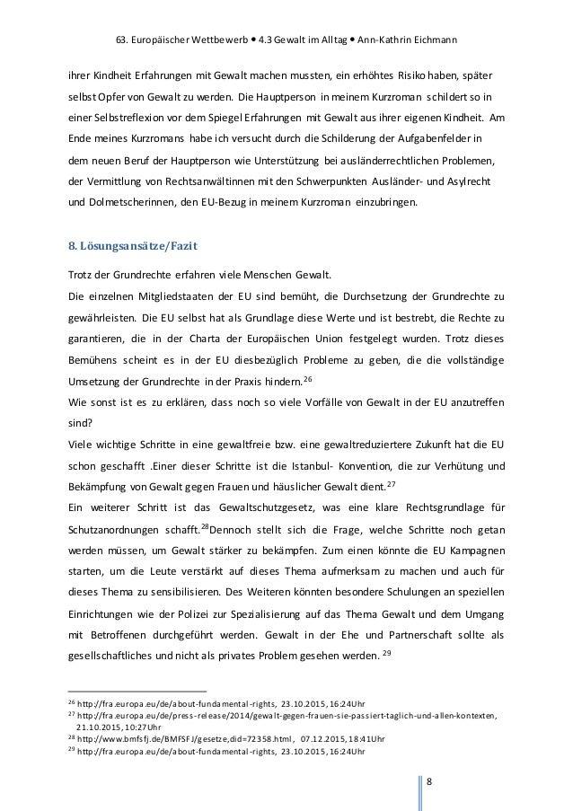Hausarbeit Eu Wettbewerb Ann Kathrin Eichmann
