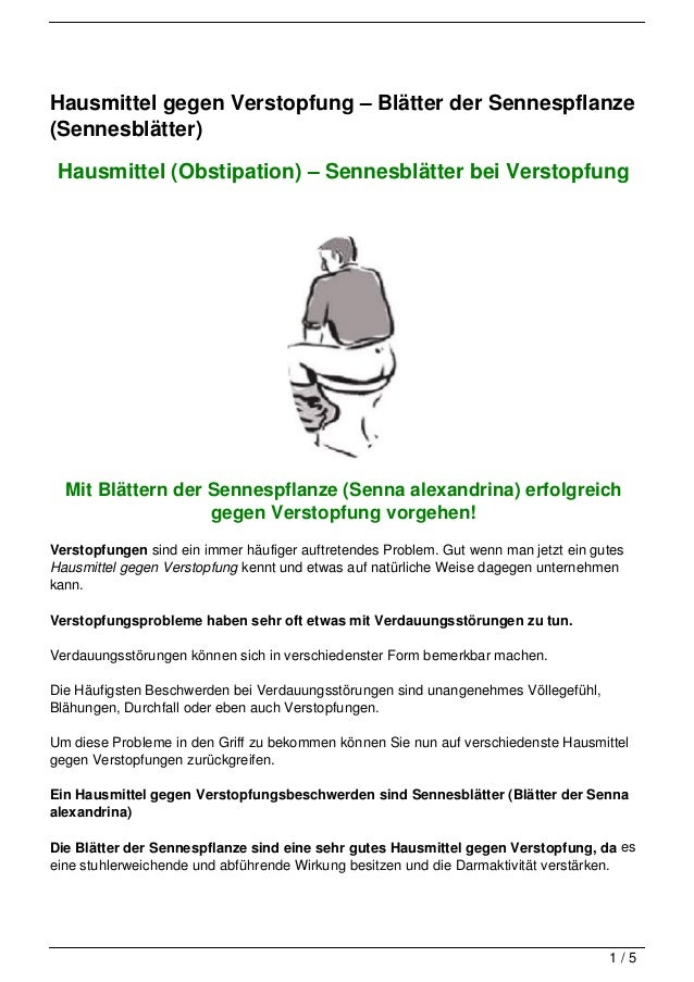 Hausmittel gegen Verstopfung – Blätter der Sennespflanze(Sennesblätter) Hausmittel (Obstipation) – Sennesblätter bei Verst...
