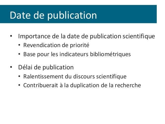 Recherche scientifique sur la datation en ligne